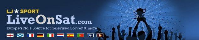 LJs LiveOnSat Football / Soccer Schedules on TV